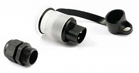 Stecker 3-Polig mit LED