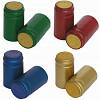 Anschrumpfkapseln für Wein-flaschen PVC - durchsichtig
