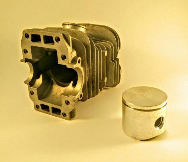 Kolben und Zylinder D38