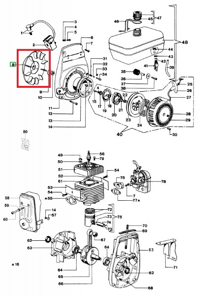 Pumpenmagnet SA 45