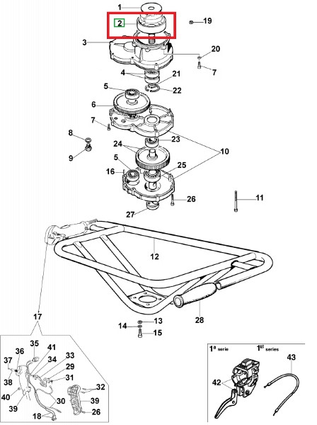 Drosselgehäuse MTL 50