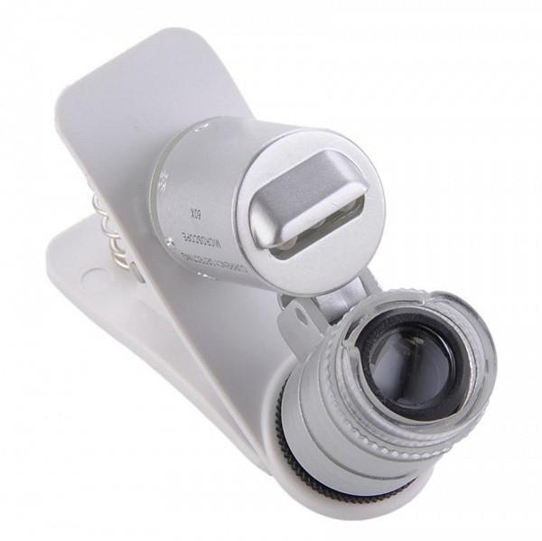 Mikroskop für das Telefon