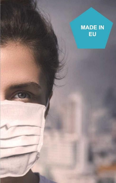 Schutzmaske - zweischichtig - 4 Stk.